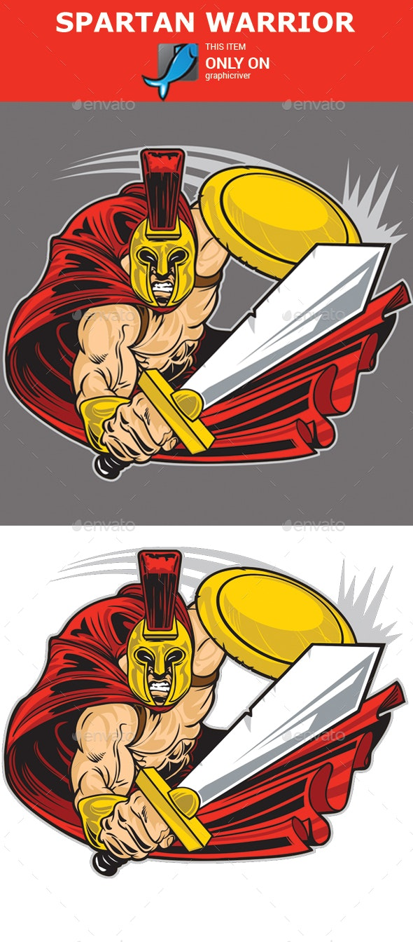 Spartan Warrior - People Characters