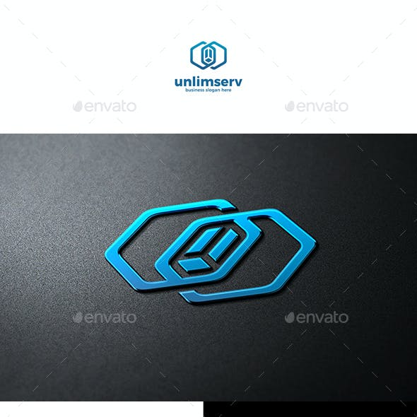 Unlimited Server Infinity Hosting Logo