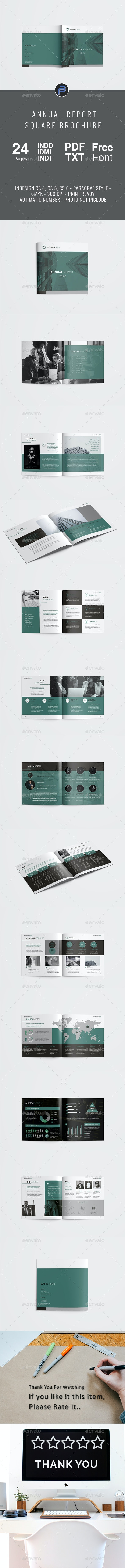 Square Annual Report - Corporate Brochures