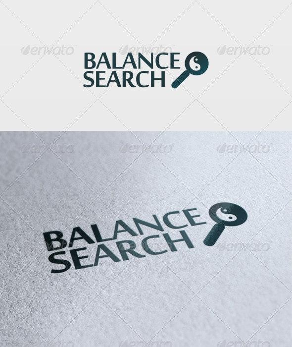 Balance Search Logo - Objects Logo Templates