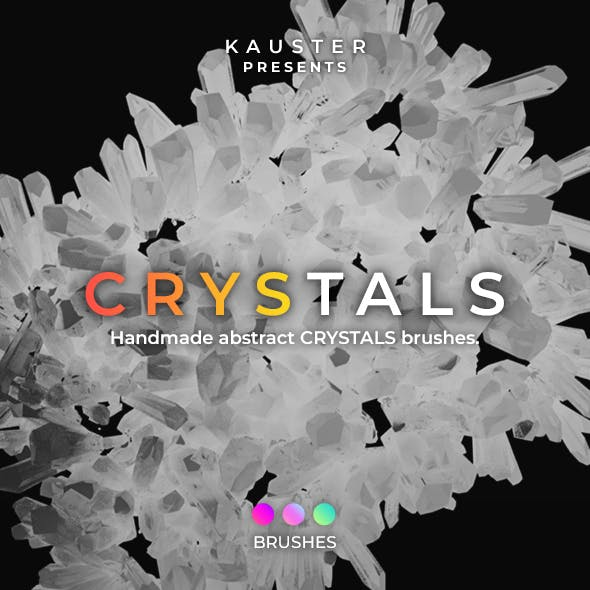 Crystals Brushes