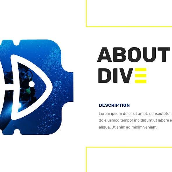 Dive - Travel Agency Google Slide Template