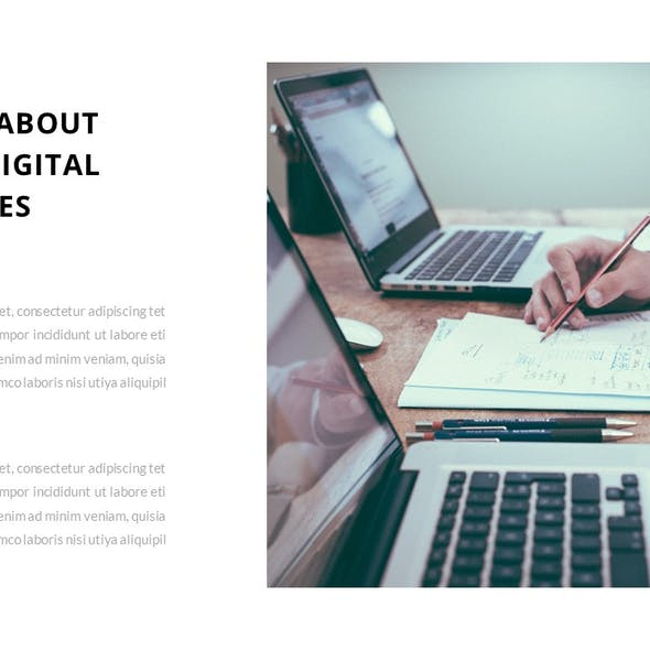 Creavy – Business Google Slides Template