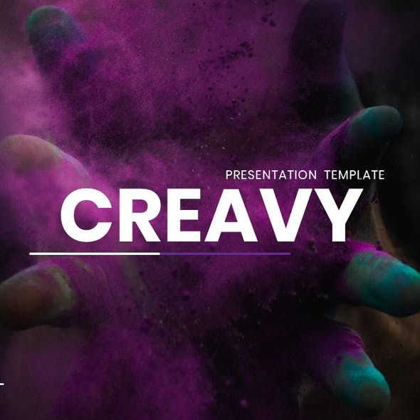 Creavy – Business Powerpoint Template
