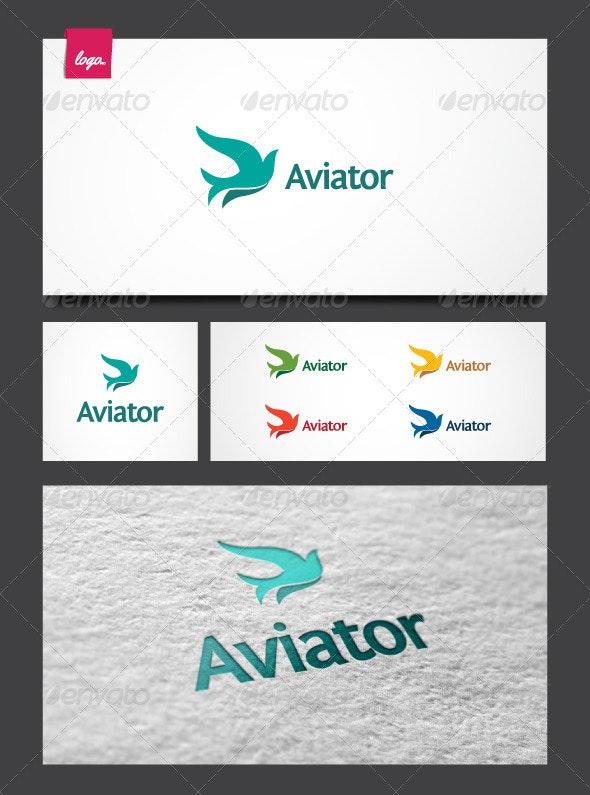 Aviator Logo Template - Animals Logo Templates