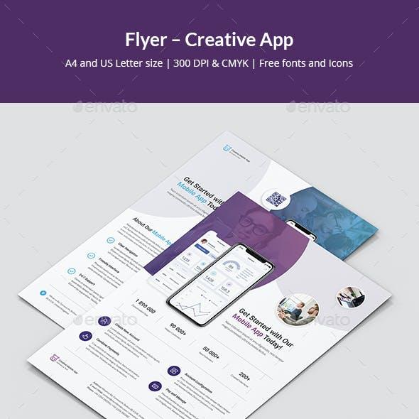 Flyer – Creative App