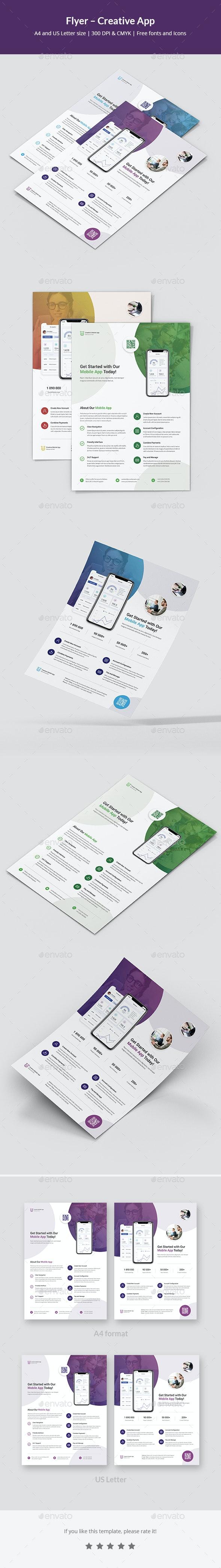 Flyer – Creative App - Commerce Flyers