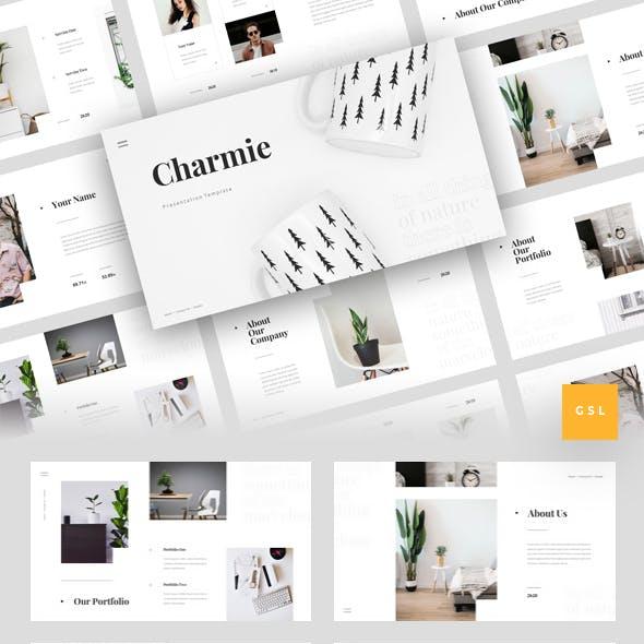 Charmie - Creative Google Slides Template