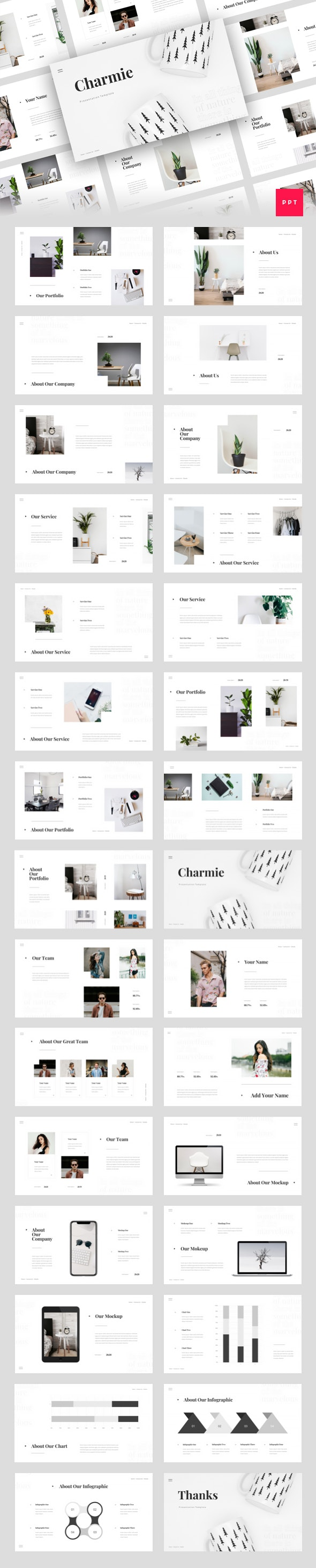 Charmie - Creative PowerPoint Template - Creative PowerPoint Templates