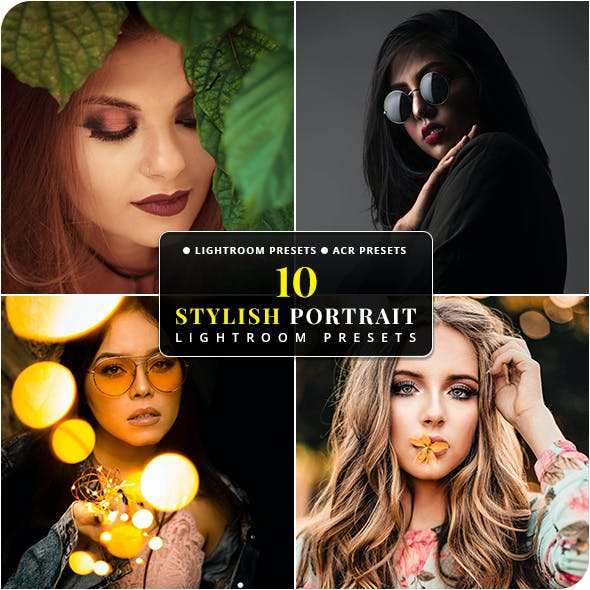 10 Stylish Portrait Lightroom & Camera RAW Presets