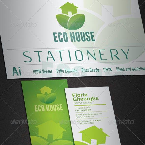 Eco House Stationery