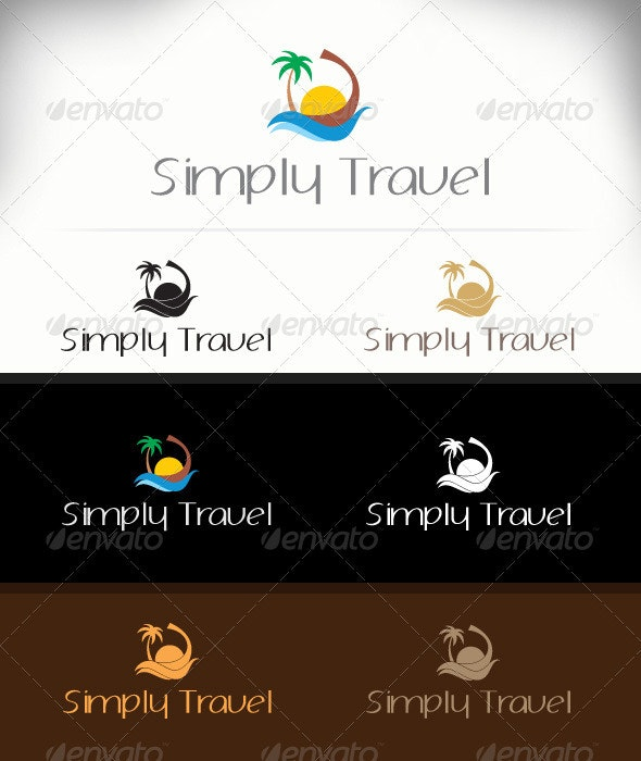 Simply Travel - Nature Logo Templates