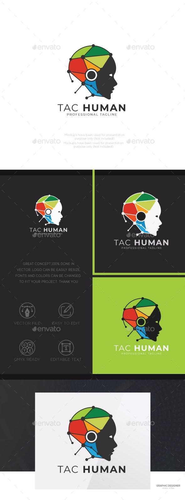 Tac Human - Humans Logo Templates