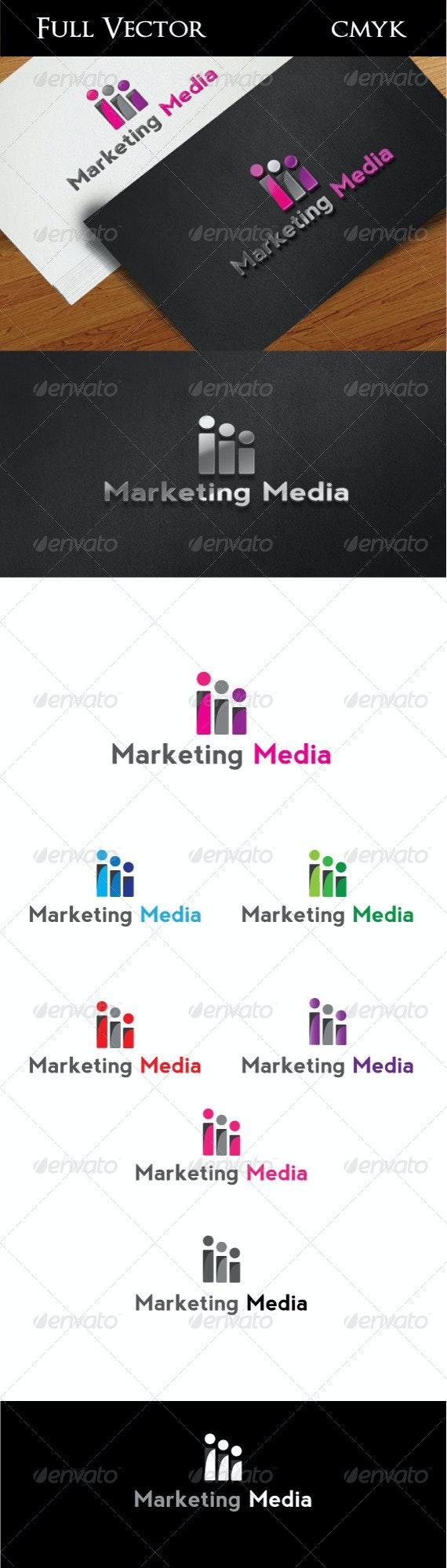 Marketing Media - Vector Abstract