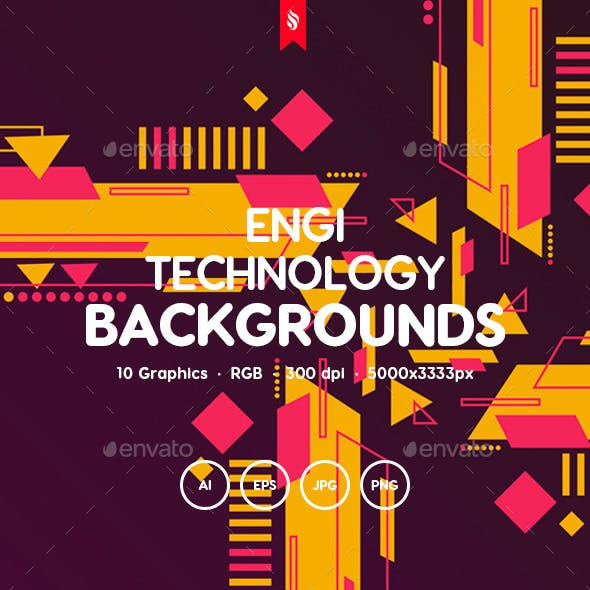 Engi - Abstract Tech Backgrounds