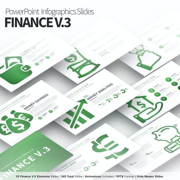 Finance V.3 - PowerPoint Infographics Slides