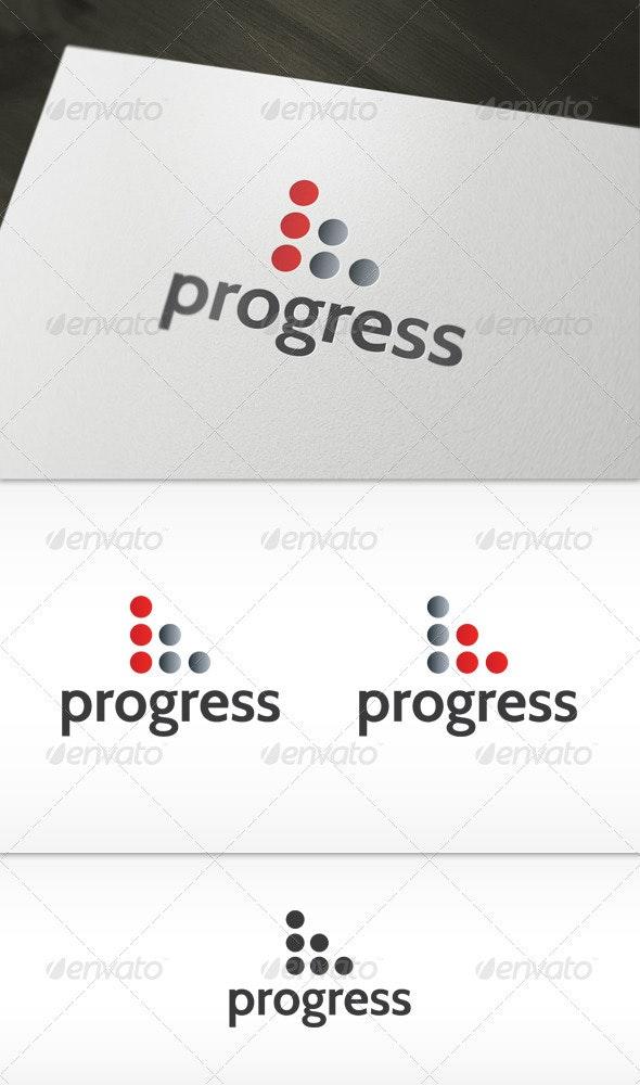 Progress Logo - Symbols Logo Templates