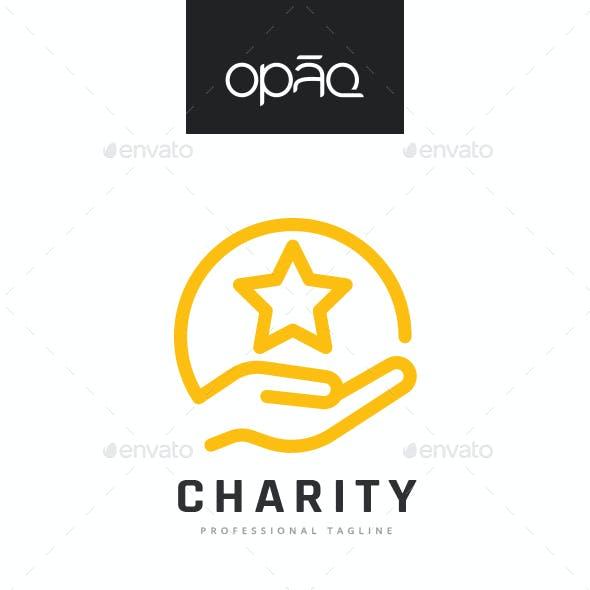 Charity Hand Logo
