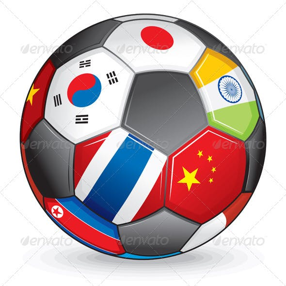 Asian soccer ball