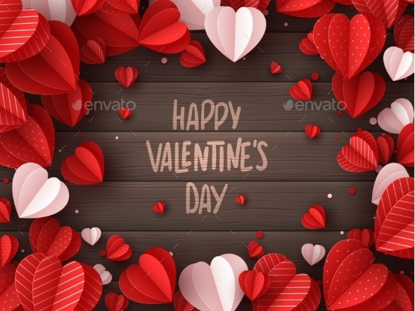 Happy Valentines Day Greeting Card - Valentines Seasons/Holidays