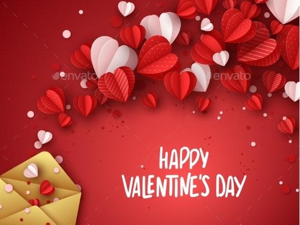 Happy Valentines Day Greeting Card - Valentines Seasons/Holidays