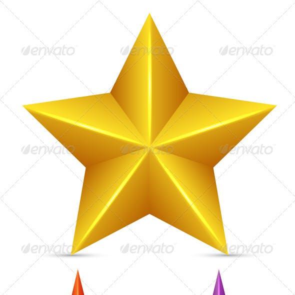 Shining Yellow Star