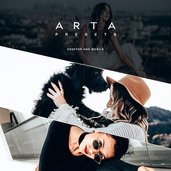 ARTA PR5 Preset For Mobile and Desktop Lightroom