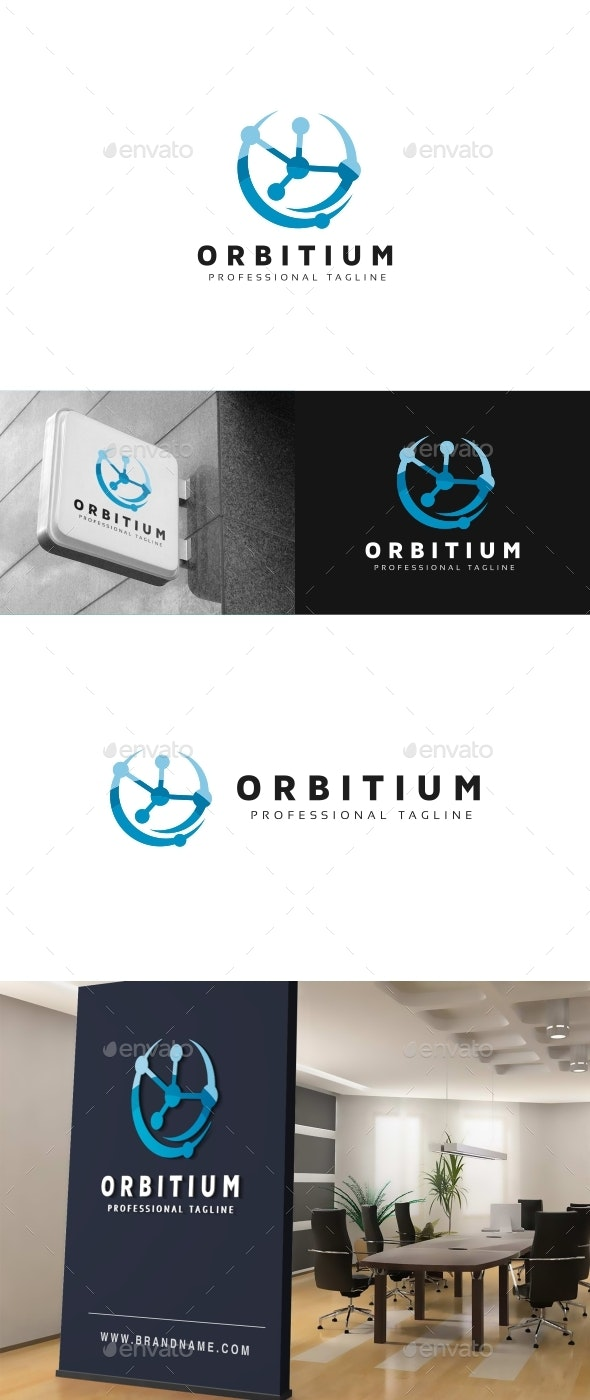 Orbital Logo - Abstract Logo Templates