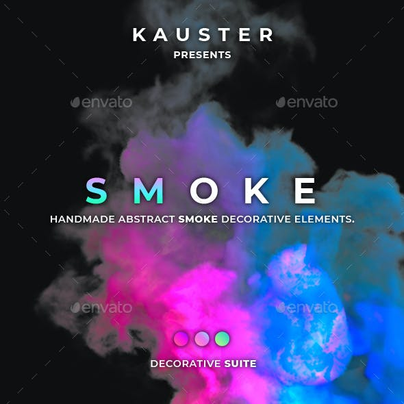 Colorful Smoke Decorative Suite