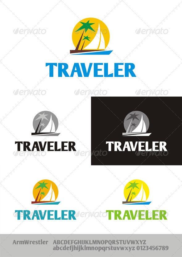 Traveler Logo - Nature Logo Templates