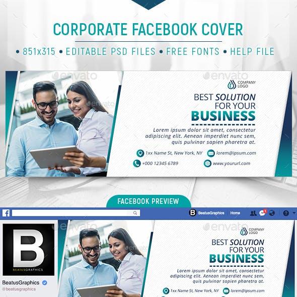 Facebook Corporate Cover