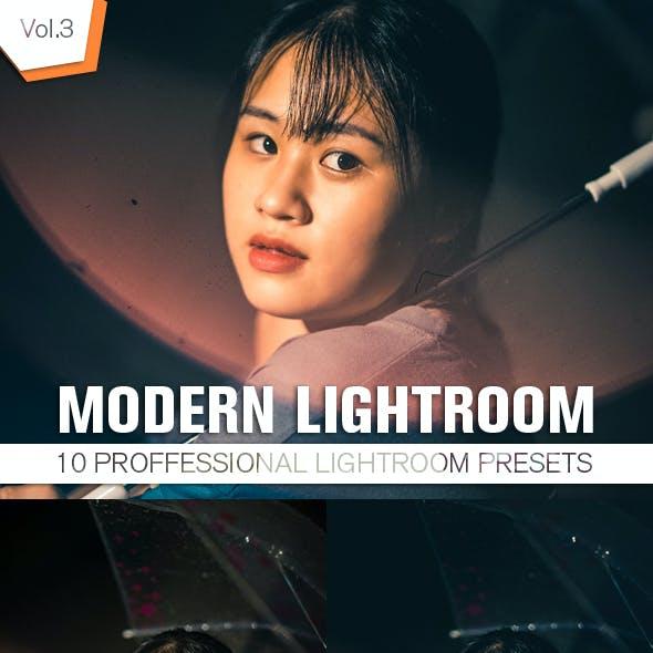 10 Modern Lightroom Presets Vol.3