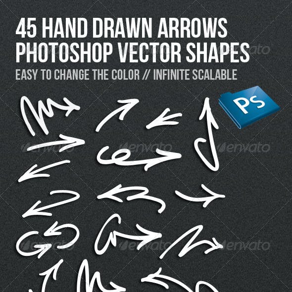 45 Hand Drawn Arrows