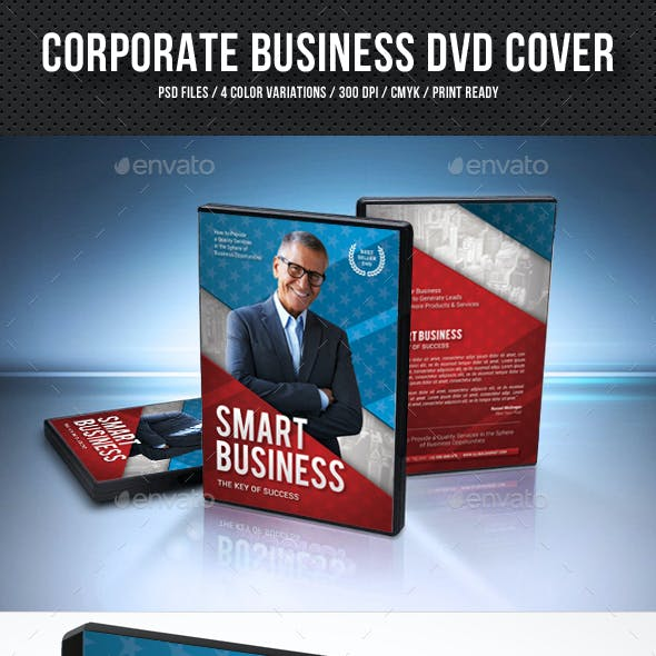 Corporate Business DVD Cover V2