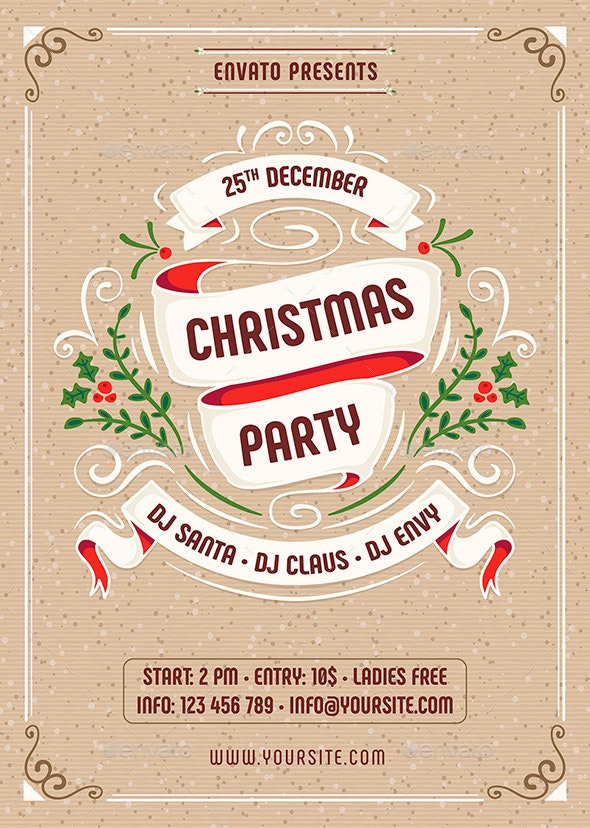 Christmas - Clubs & Parties Events