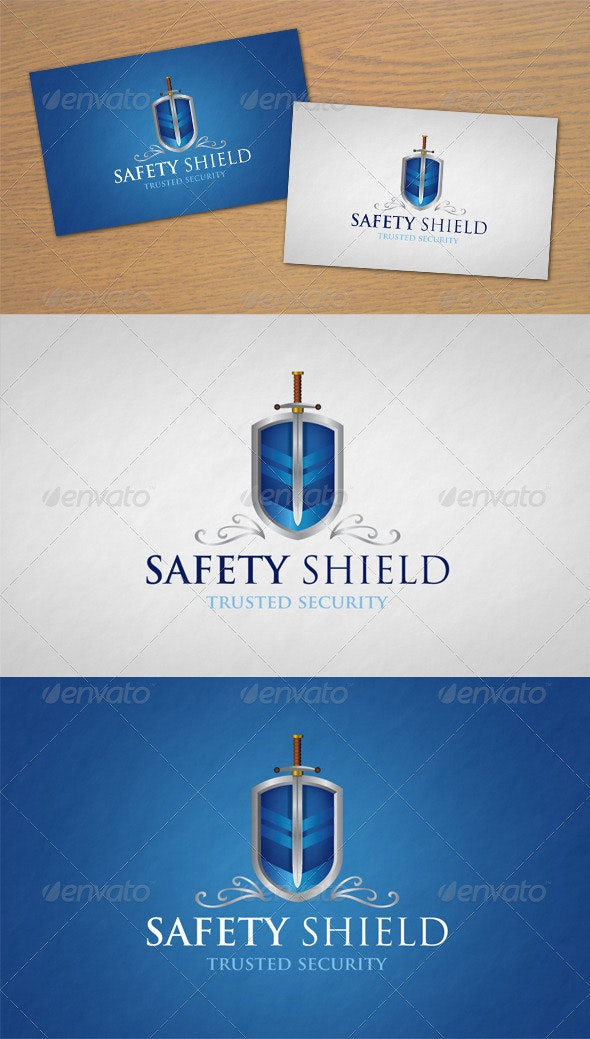 Safety Shield Logo - Objects Logo Templates
