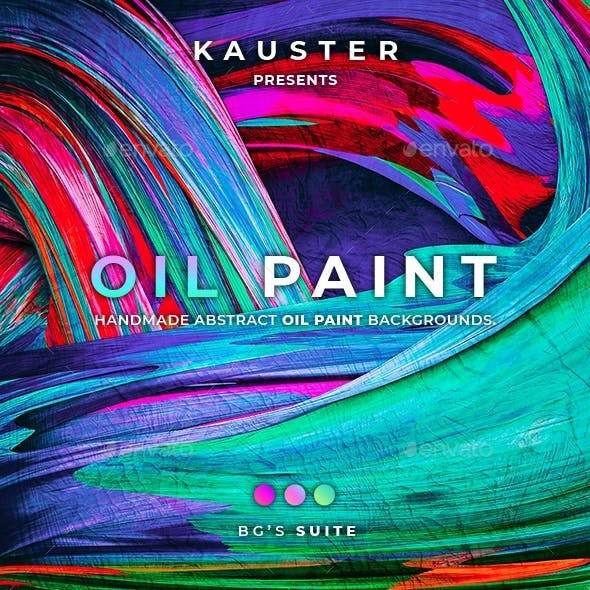120 Oil Paint Backgrounds