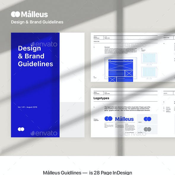 Malleus – Brand Guidelines Template