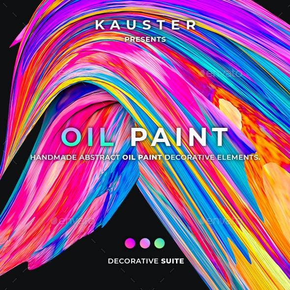 Oil Paint Decorative Suite