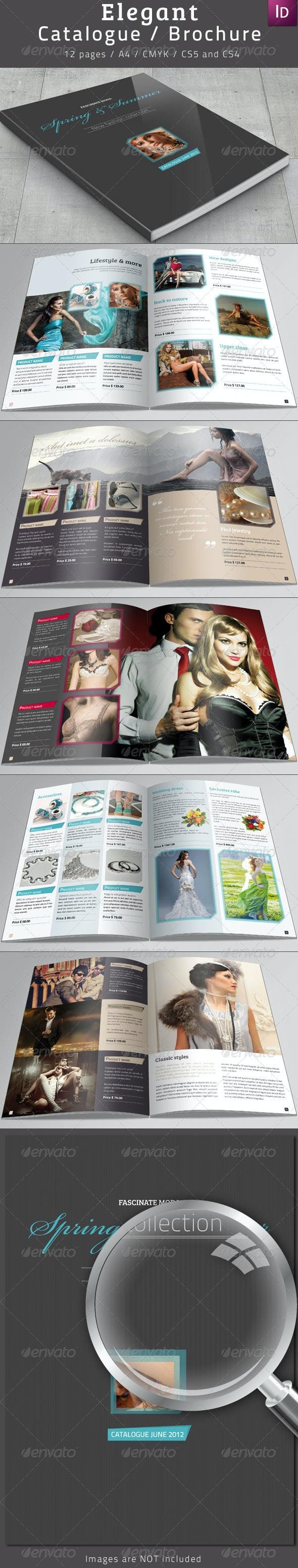 Elegant Catalogue / Brochure - Catalogs Brochures