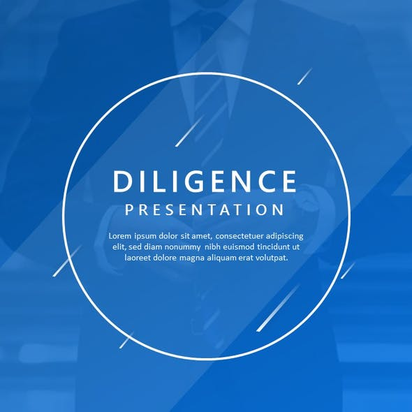 Diligence Business Presentation Template