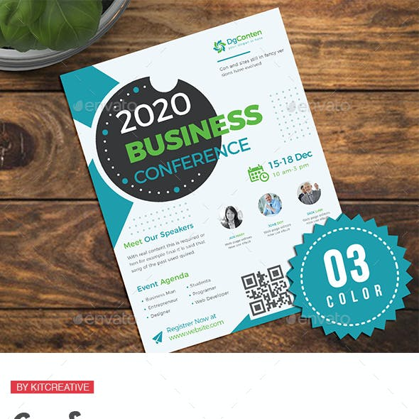 Conference Invitation Graphics, Designs & Templates