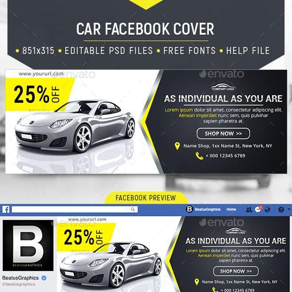 Facebook Car Cover