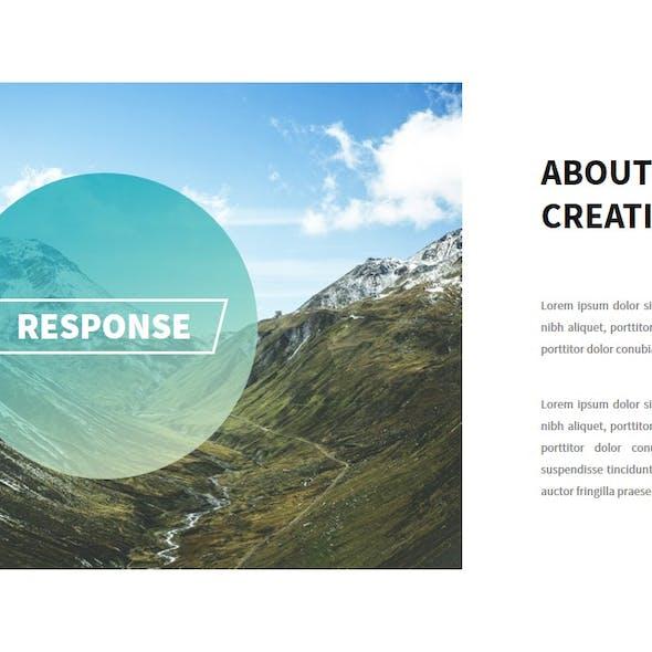 Response Multipurpose GoogleSlide PPTX
