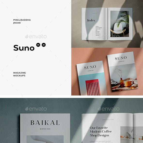 Suno Magazine Mockup Kit