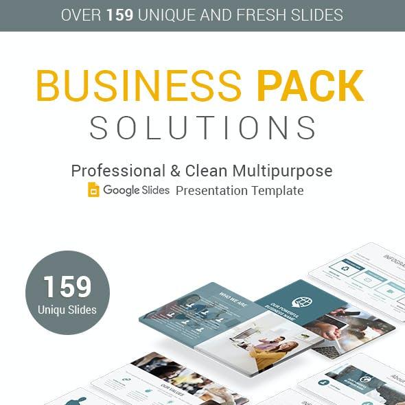 Business Pack Google Slides Presentation Template