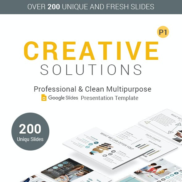 Creative Pack Google Slides Presentation Template