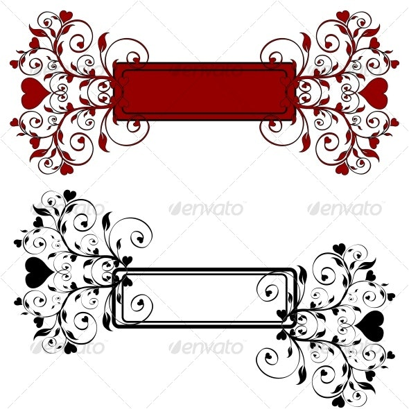 floral banners - Seasons/Holidays Conceptual