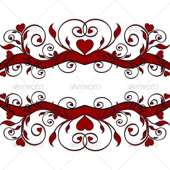 Flower border - Decorative Vectors