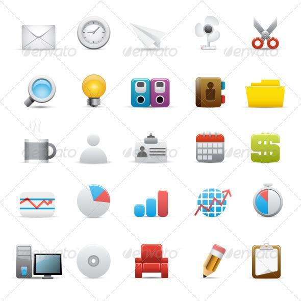 Design Office Icon Set